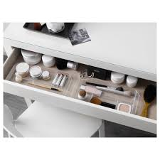 Ikea Desk Drawer Organizer by Malm Dressing Table White 120x41 Cm Ikea