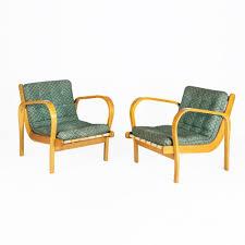 interier pair of arm chairs by k kozelka u0026 a kropacek for interier praha