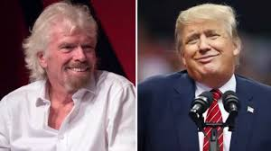 donald trump is u0027an embarrassment for the world u0027 says sir richard