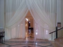 White Drape Wedding Drapes Panels 12 U0027x114