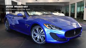 2017 maserati granturismo convertible on the lot 2016 maserati granturismo convertible sport for sale
