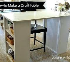 diy craft table ikea diy craft table builtwithlove site