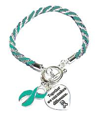 silver rope charm bracelet images Scleroderma awareness silver ribbon teal rope charm bracelet JPG