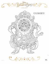 free beauty beast coloring pages mommy mafia