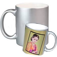 silver mug buy personalized photo silver mug at lowest price personalized