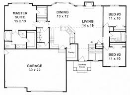 split bedroom floor plans plan 1527 3 split bedroom ranch w walk in pantry and walk in