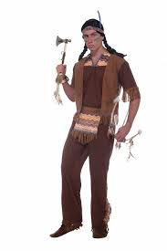halloween costumes for men men native american brave costume 27 99 the costume land