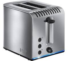 Stainless Toaster 2 Slice Buy Russell Hobbs Buckingham 20740 2 Slice Toaster Stainless