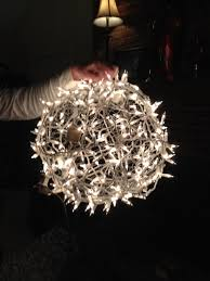 outdoor christmas light balls giant lighted christmas balls how to hang them on a tree youtube