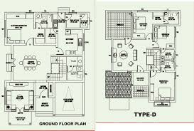 Large Bungalow Floor Plans Bcg Bungalows Vennala Kochi Buy Sale Villa Building Plans Online