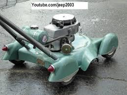 lil scalper custom mini art deco retro lawn mower minibikes