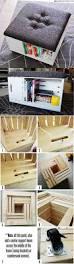 diy storage ottoman simple and fun diy home decor tutorial for
