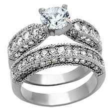 titanium engagement rings his hers 3 pcs wedding engagement ring set black titanium matching