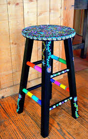 25 unique painted stools ideas on pinterest hand painted stools