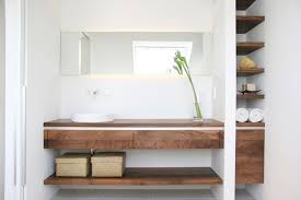 20 glorious bathrooms with wooden shelves home design lover