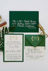 green wedding invitations 25 green wedding invitations ideas on botanical
