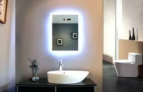Bathroom Led Mirror Light Led Bathroom Mirror Gleam Black White Led Bathroom Mirror Lights
