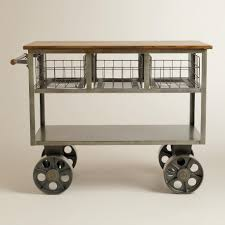 stainless steel kitchen island cart decorating stainless steel top for kitchen island roll about
