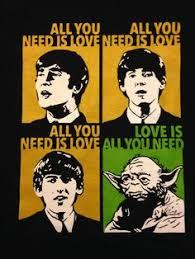 Beatles Yoda Meme - poster yoda beatles beatles and humor