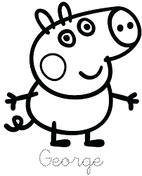 coloring pictures pigs free download pages baby cute printable