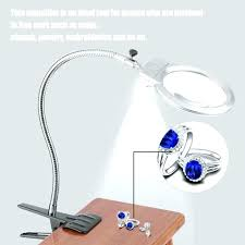 led lighted desk magnifying l table top magnifying glass with light fooru me