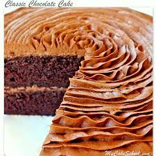 classic chocolate cake scratch cake recipe homemade