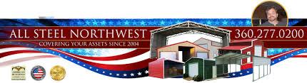 all steel northwest metal garage buildings u0026 carports in belfair wa