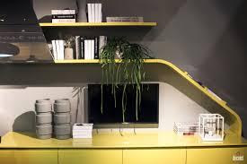 modern kitchen open shelves cabinets u0026 drawer yellow open shelving from scavolini innovative