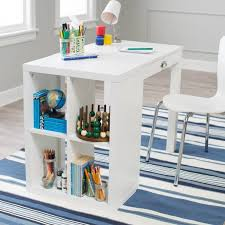 White Children S Desk by Childrens Desk Bookcase Combo 4cubby White Student Homework Play