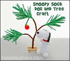 snoopy tree christmas crafts for kids