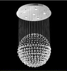 Dining Room Fixtures Contemporary by Modern Contemporary Crystal Ball Chandelier Lighting Fixture 53066