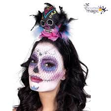 day of the dead headband mexican senorita day of the dead flower fancy dress costume