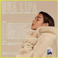dua lipa jesus christ dua lipa announces more headlining self titled tour dates performs