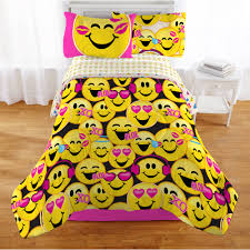 emojination happy happy reversible comforter twin walmart com