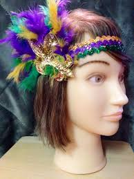 mardi gras headbands mardi gras fleur de lis headband by nolatrends on etsy mardi
