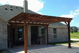Patio Covers Hj Tile Texas Patio Covers Stamped Concrete
