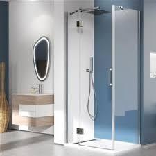 parete fissa doccia box doccia 90x90 anticalcare trasparente apertura battente con