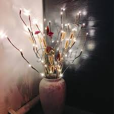 Led Branch Centerpieces by Aliexpress Com Buy Willow Twig Branch Light Village Romance 20