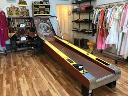 skee ball table plans vintage toast is the definition of old cool