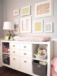 White Changing Tables For Nursery Changing Table And Bookcase Transitional Nursery Cape 27