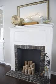 fascinating fireplace mantel mirror decorating ideas pictures