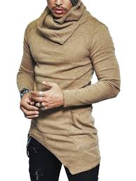 mens sweaters cardigans patch turtleneck cheap