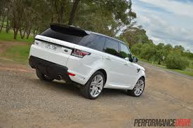 range rover land rover white 2014 range rover sport autobiography v8 review video