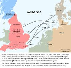 where did saxons originate from updated