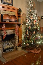 primitive christmas tree christmas ideas
