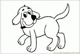 clifford coloring page murderthestout