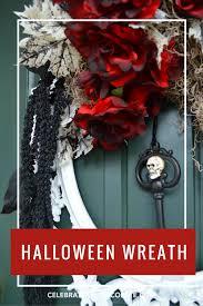 halloween wreath on a picture frame celebrate u0026 decorate