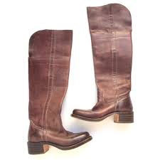 s frye boots sale 59 frye shoes frye cus the knee boots saddle from