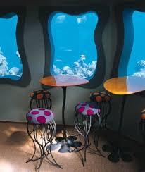 مطعم تحت الماء رووعه