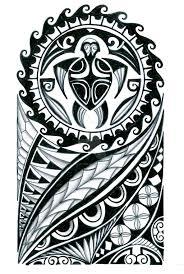 polynesian half sleeve designs best design